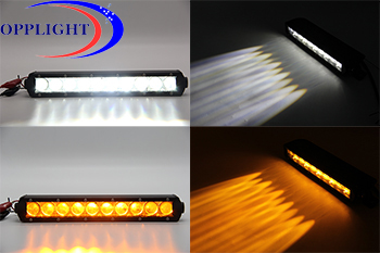 Sy Series Newest White And Amber Strobe Single Row Led
